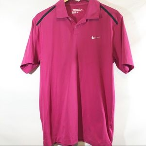 Nike Golf Pink polo size M